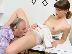 Skinny young cutie Marisa is getting fucked tube porn video