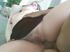 Hot BBW with saggy tits gets fucked tube porn video