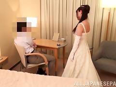 Asian Bride Gets One Last Fuck tube porn video