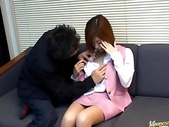 Yui Sarina kinky Asian chick tube porn video