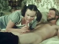 Stunning maid is sucking this tasty cock tube porn video