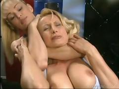 Tanya Danielle And Zora Banx Have Wild Lesbian Sex In The Gym tube porn video