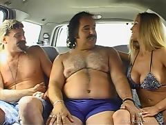 Curvaceous MILF Leeanna Heart gets nailed by Ron Jeremy tube porn video