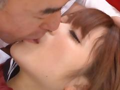 Riona Minami hot school day fuck tube porn video