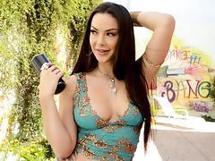 Cum a lot with Sophia Santi tube porn video