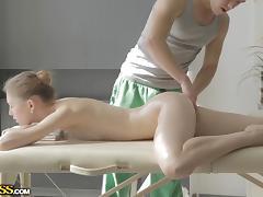 sweet eva receaving a nasty massage tube porn video
