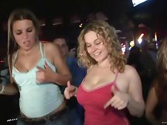 Marvelous Ladies With Natural Tits In Bra Enjoying Party tube porn video
