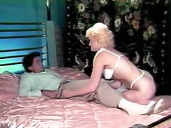 Retro stockings girl hardly drilled tube porn video