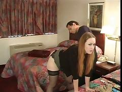 Julie Simone in nylons spanked by her master tube porn video