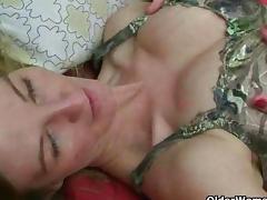 German mom's secret masturbation tapes tube porn video