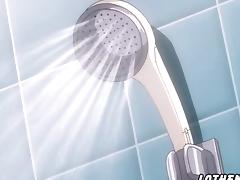 Hentai sex with friend in the bathroom tube porn video