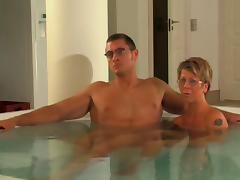 MILF in the Pool tube porn video