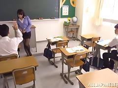 College Japanese Stud Fucks His Teacher Hardcore With A Cumshot tube porn video