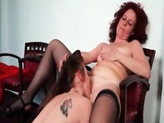 Nasty mature lesbian gets her horny part3 tube porn video