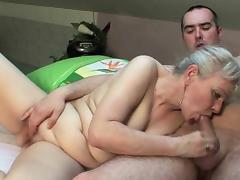 Grandma craves cock and cum tube porn video
