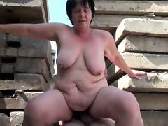 BBW grandma still enjoys grandpa\'s tiny dick tube porn video