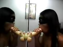 Mirror Suction Dildo Fuck tube porn video