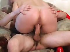 RUSSIAN BLONDE MATURE FUCKED BY A LARGE DICK tube porn video