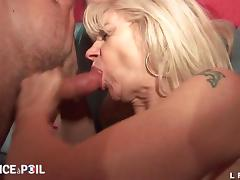French old mature hard double penetrated tube porn video