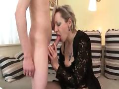 Horny blonde mature woman goes crazy part2 tube porn video