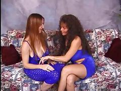 Long haired lesbians enjoys licking and toying their pussies tube porn video