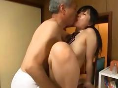 grandpa and the schoolgirl tube porn video