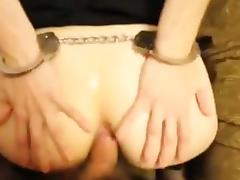 Handcuffed blindfold assfucked tube porn video
