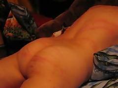 Russian spank tube porn video
