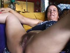 Mature lesbian getting cunt licked and fucked by young chick tube porn video